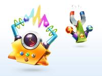 Popcorn game icons