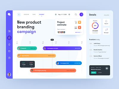 Fly Flow Dashboard coooperation mentorship leadership management activity task task tracker web ux ui startup service website interface