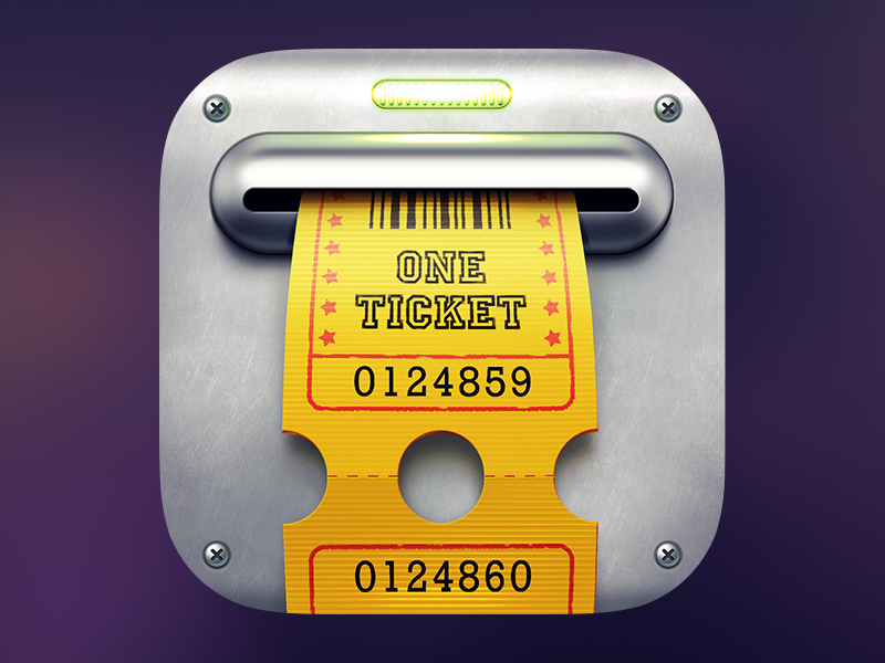 Slot-Machine Icon ios icon app iphone ipad