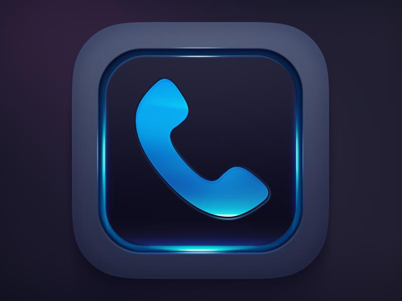 iCaller App Icon ios icon app iphone ipad