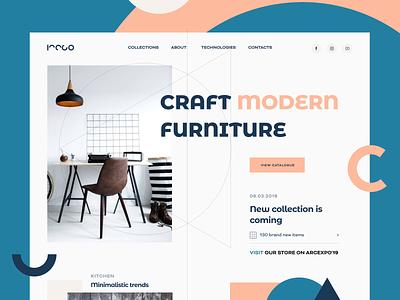 Iteco Loading Animation decoration composition aesthetics furniture interior interaction animation web ux ui startup service website interface