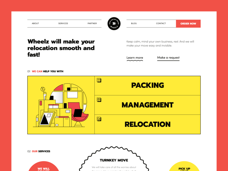 Wheelz Website house furniture transfer service relocation service reshuffle move delivery service relocation moving delivery transfer packing product web ux ui startup service website interface