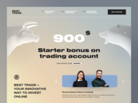 Best Trade Website economy monetization investing trading trade profit income bonus money education investment invest product web ux ui startup service website interface