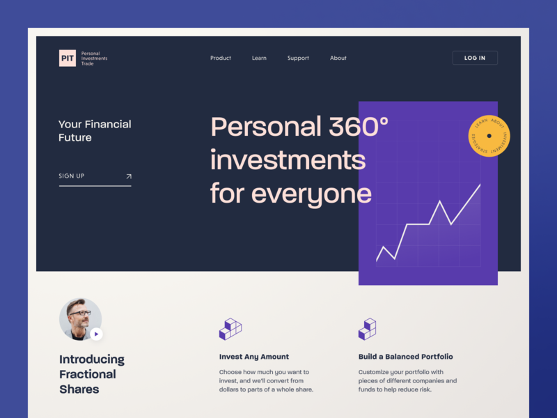 PIT Website website interface product web ux ui startup service