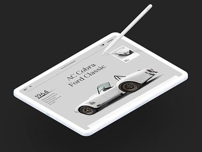 Rocket Garage Website interface product web ux ui startup service website