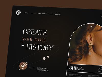Shine Website interface product web ux ui startup service website