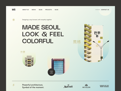 MS Website product interface web ux ui website startup