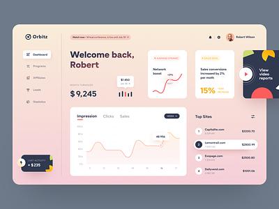 Orbitz Dashboard web product design interface service ux ui startup website