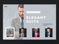 Menswear Website. Sssuit Up!
