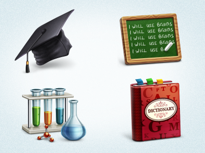 Free Academic Icon Set icon icons stock download png psd free