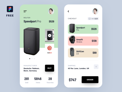 Techshop App Concept