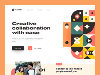 Creative Collaboration Website