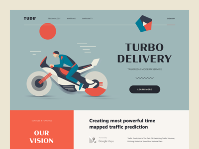 Tude Express Delivery Website