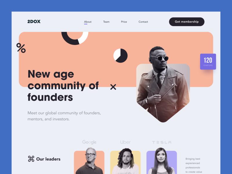 2DOX Website businessme implementation investment community mentorship enterprise entrepreneur startup business halo lab halo colourful design website