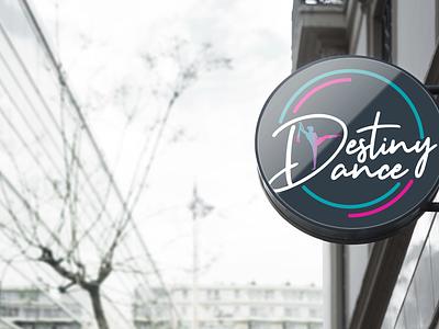 Destiny Dance Studio Branding logo dance