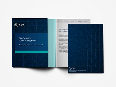 Marketing Playbook ebook publication layout vector corporate