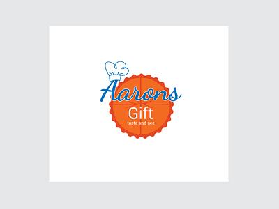 Logo Aaron's Gift illustration logo exploration vector graphics design branding logo