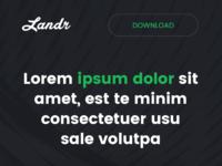 Landr mobile