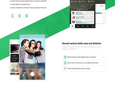 Freebie VSApp PSD Template - Full Version free psd landing page landing minimal clean website freebiepsd template psd freebie