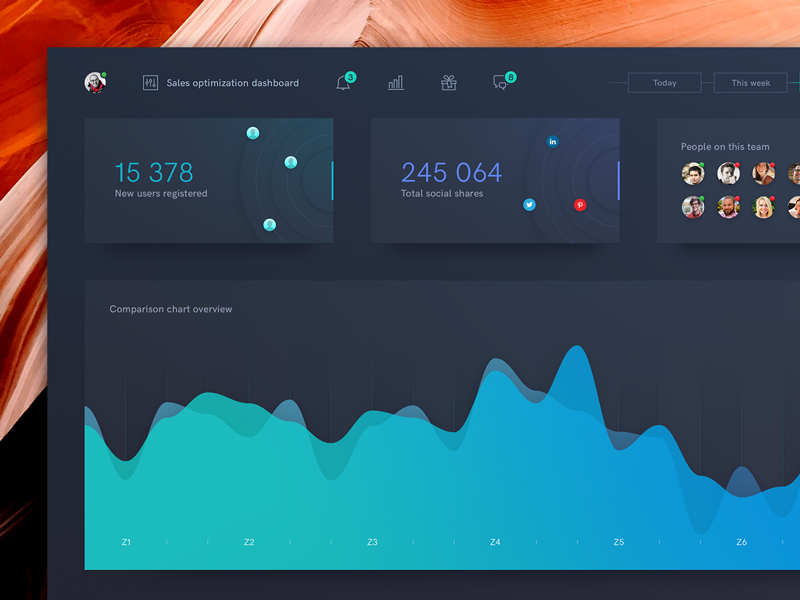 Datav dribbble 3