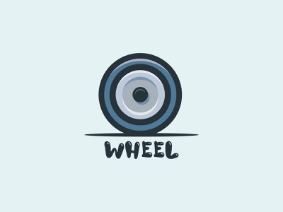Wheel Illustration icon wheel illustration wheel logo illustration art vector creative logo branding illustration brand identity brand design abastact branding logo logo design modern logo