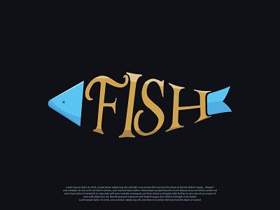 Fish Logo fish fish logo brandidentity logoinspirations logoinspiration creative graphic logomaker illustrator illustration logotype brand logo design graphicdesigner logodesign art branding graphicdesign design logo