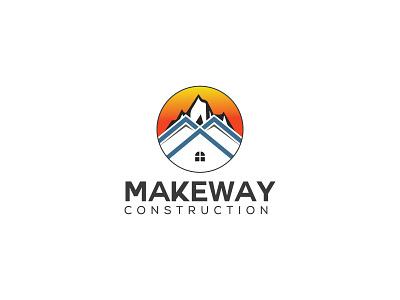 Makeway Construction Logo construction logo design artist graphics brandidentity logoinspiration creative graphic logomaker illustration logotype logos logodesigns logodesigner branding graphicdesign construction logo logo branding logo modern logo logo design