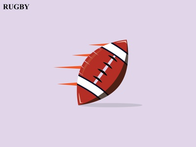 Rugby Ball Logo logo mark logo inspirations graphicdesign brand identity creative logo ball logo sports logo brand design abastact branding logo logo modern logo logo design