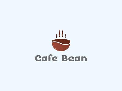 Cafe Bean Logo logo designer logodesign graphics logo maker cafe logo bean logo coffe logo logomaker logoinspiration creative logo brand identity brand design abastact branding logo logo modern logo logo design