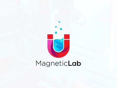 Magnetic Lab Modern Logo science labs chemical logo magnetic lab logo magnetic lab modern logo magnet modern logo magnet logo lab logo laboratory modern logo laboratory logo logo maker logo inspirations graphicdesign creative logo logodesign brand design abastact branding logo logo modern logo logo design