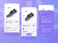 ECommerce - Review and Comments Page (Concept)