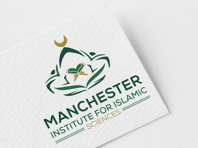 Manchester Institute For IslamicScience islamic icon college logo islamic college logo islamic college islamic logo illustrator design logo design branding minimal logos minimal logo design logo design logo creative logo design minimal branding