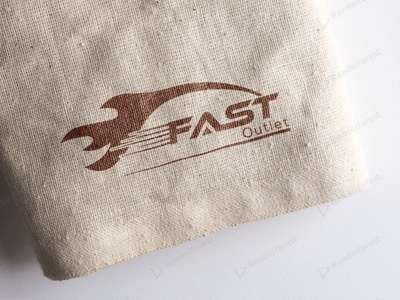 Fast Outlet Logo design logo design branding minimal logos minimal logo design logo design logo creative logo design minimal branding