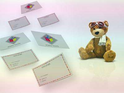 Bear businesscard bear