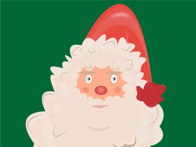 Santa Claus chirstmas santaclaus newyear santa illustration