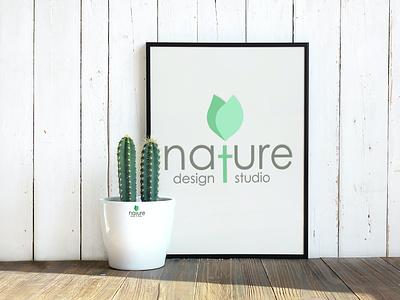 logo mockup design illustration logotype logos chirstmas businesscard logo design
