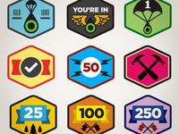 Reality Drop Badges