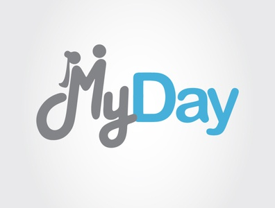 My day lettering lovely myday love logotype logo design logodesign logos icon typography illustration logo branding bardhart vector