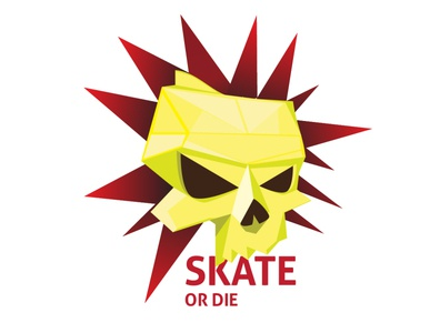 Skate or Die 99 logodesign branding illustration design vector logo skateboarding skull and crossbones skull logo skull art punk skulls skull skateboard skater skate