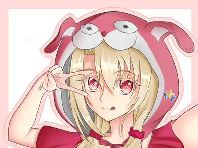 Illya illustration mangaart cartoon illustration anime art anime
