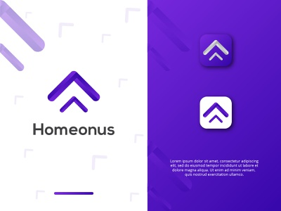 Homeonus Business Logo icon modern logo design modern logo logos homeonus logo design logo logo design logodesign business logo design business logo