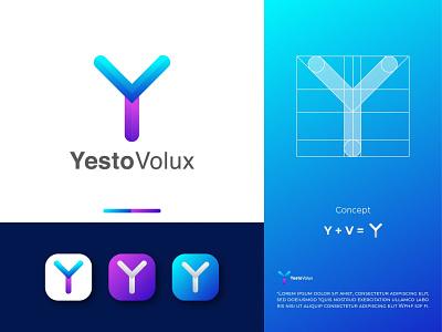 Y Modern  Logo Design letter logo logos modern logo design logodesign logo design logo business logo design business logos business logo y logos y logo y letter logo
