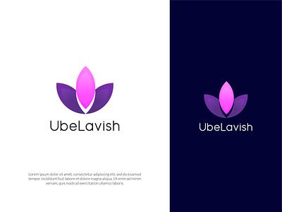 UbeLavish- Cosmetics Business Logo design logodesign logo business logo design modern business logo business logo modern logo logos logo designer logo design logo mark cosmetics logo