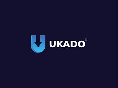 UKADO- Modern Business Logo logos design logo logo design business logo design business logo u letter logo u modern logo modern logo logo designer logodesign u business logo u kado logo u logo