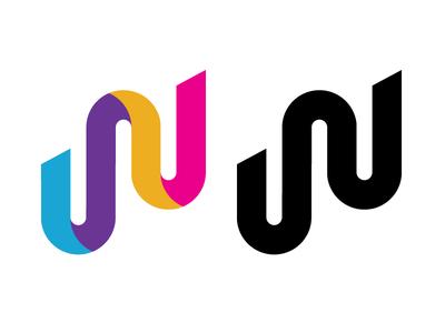 W branding logo