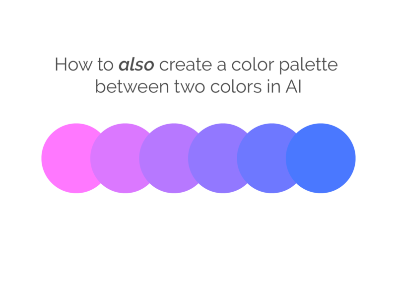 Edit colors menu is cool colorscheme adobe illustrator illustration