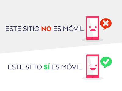 Si / No mobile pink cute logo