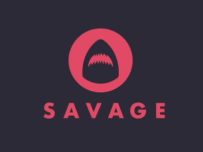 Savage Logo project personal for logo quick