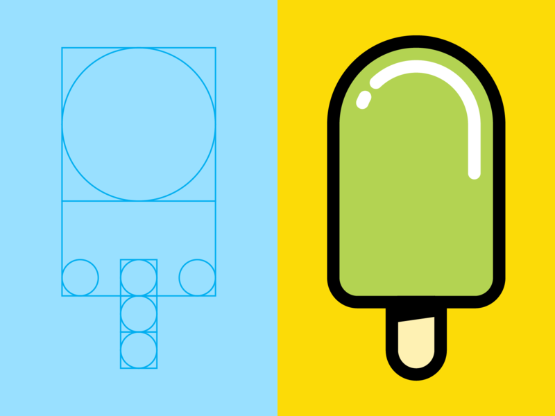Popsicle Logo cute illustration logo