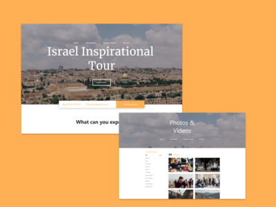 Israel Inspiration Tour (WIP)